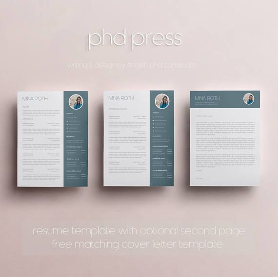 looking for a professional resume and cover letter template the mina roth design is for
