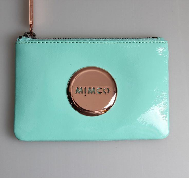 Mimco Mim Pouch Seafoam $69.95AUD from David Jones