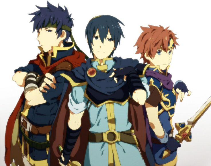 Ike, Marth & Roy - Fire Emblem