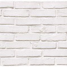 best 25 papier peint brique blanche ideas on pinterest. Black Bedroom Furniture Sets. Home Design Ideas