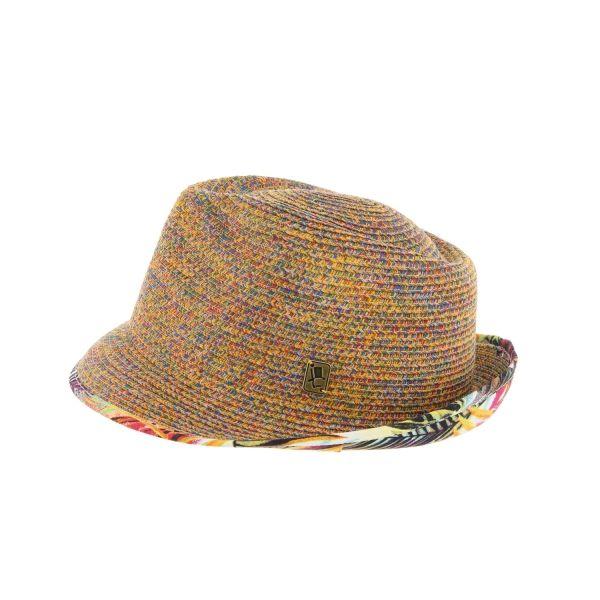 Chapeau paille orange Magnum Herman #chapeaupaille @hermanheadwear #mode #bonplan #homme #startup