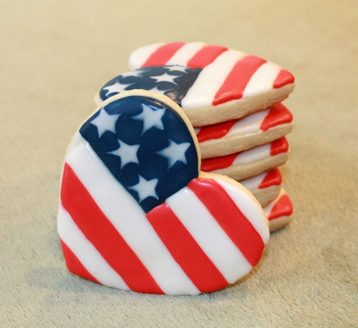July 4th, Fourth of July Cookies, 4th of July, American Flag, America, Independence Day, Red White And Blue, Fireworks, BBQ, American Heart by SugarMamasCreations on Etsy https://www.etsy.com/listing/475477760/july-4th-fourth-of-july-cookies-4th-of