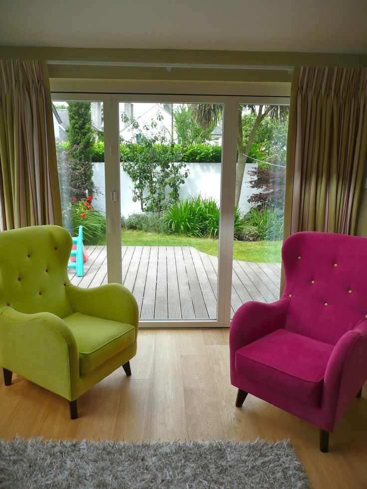 Chairs (buttoned )made to order