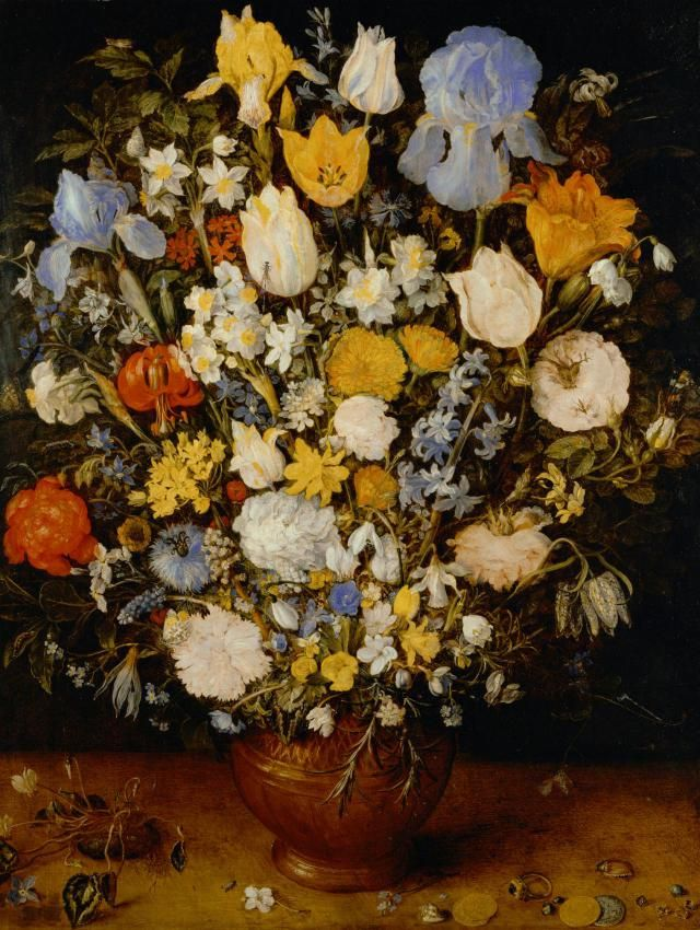 Learn how to add hidden meaning to your paintings by including flower to symbolize love, jealous, and more.