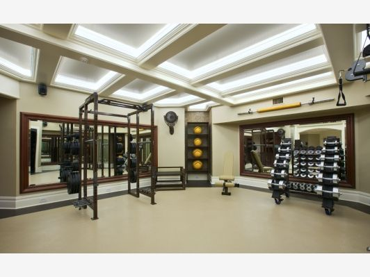 Make it personal luxury home gym design high end