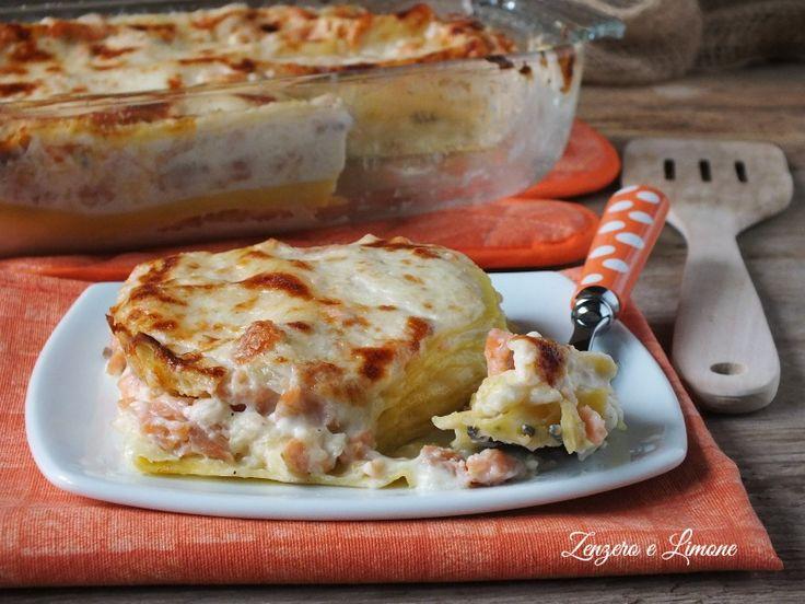 Lasagne+al+salmone