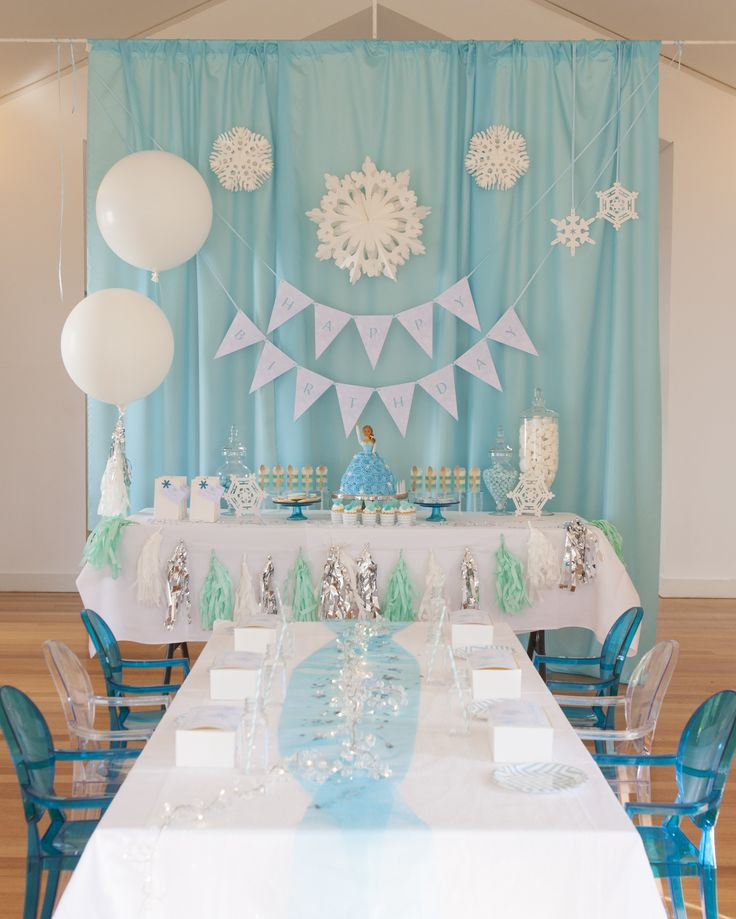 One of our most popular requests: A kid's Frozen party! For products, enquiries and inspiration vistit: minipartypeople.com.au
