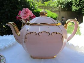 Hello Dear Tea Lovers , Do you remember me telling you that I was searching for a dreamy teapot like this one? It is a pa...