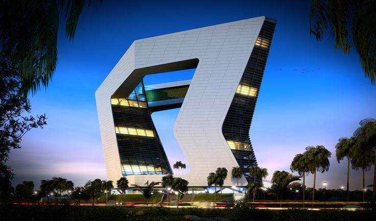 GSI Tower in Cancun by Sanzpont Arquitectura in Cancun, Mexico