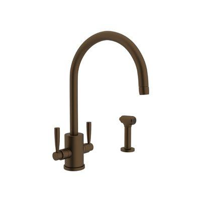 source perrin rohl rowe single hole c spout kitchen faucet kitchen faucetsappliancessinksdeck - Kitchen Sink Appliances