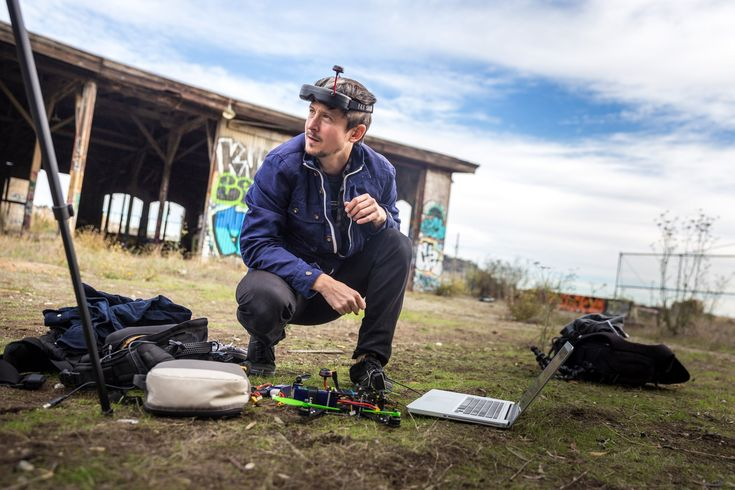 We've tested different types of quadcopters before, but have never flown them like this! Norm tags along a meetup of local FPV quadcopter racers--people who ...