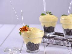 Receta | Mousse de mango con chips de chocolate - canalcocina.es