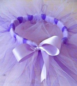 Un vero tutù da ballerina fatto da voi per le vostre bimbe, pronto in pochi minuti senza bisogno di cucire!