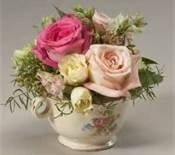 Teacup flower arrangements - Bing Images