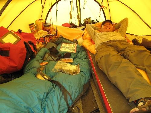 Base camp tent set up. Bill has a great system!: Camps Tent, Everest 2012, Outdoorsy Things, Based Camps, Tent Sets