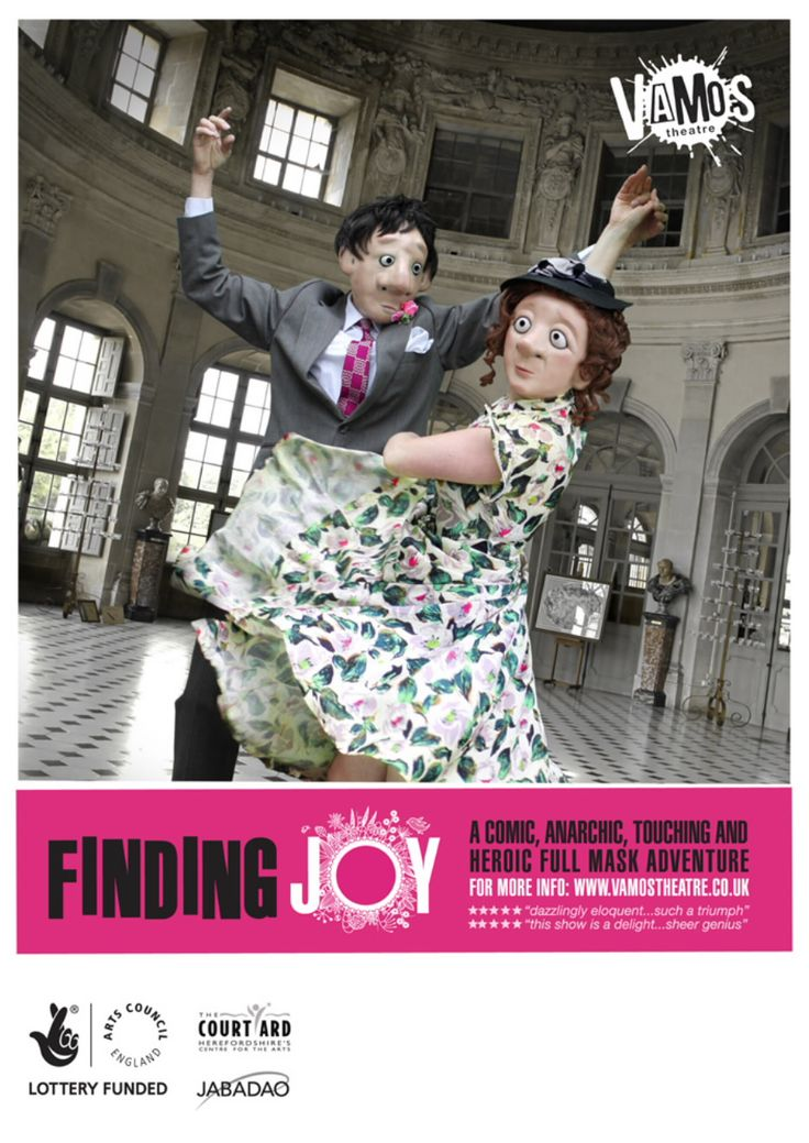 Friday  6th June, Rudry Parish Hall is pleased to present Vamos Theatre's performance; 'Finding Joy.' explores the beliefs, ideas, and attitudes of people towards dementia. Creatively brilliant performance with over 50 performances throughout Britain so far in 2014. Don't miss out!