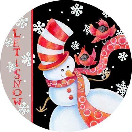 RR rc christmas snowman