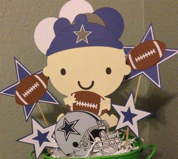 Dallas Cowboys party centerpieces for kids