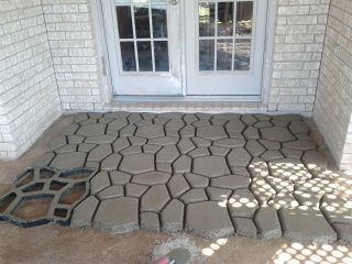 COM: Different Style Concrete Patio | Outside Life | Pinterest | Backyard  Patio, Backyard And Patios