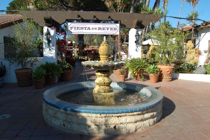 Water fountain at old town san diego state historic park - Towne place at garden state park ...