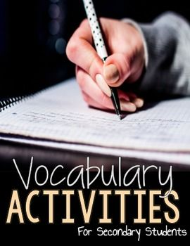 """This vocabulary activity focuses on teaching students the difference between connotative and denotative meaning using the same word. There is also root word and suffix word activities for students to work on as well. I added a bonus activity called """"Categories"""" where students use the part of speech to classify certain words."""