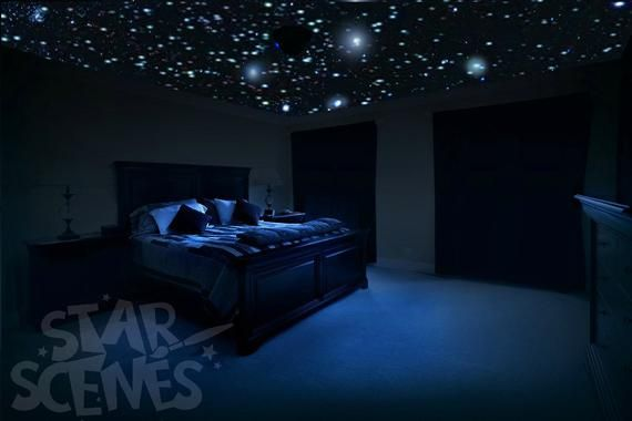 Real Ceiling Stars For Romantic Bedroom Surprise Anniversary Etsy In 2021 Star Ceiling Romantic Bedroom Decor Romantic Bedroom