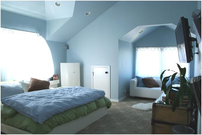 Other Than A Tv In The Bedroom I Like The Character Of The Ceiling Lines Future Home Plan