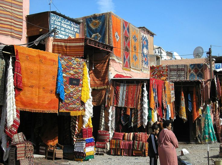 Carpets in Marrakech, Morocco: Buckets Lists, Travel Pictures, Magic Carpet, Marrakech Morocco, Marrakech Marketing, Marrakech Cities, Marrakesh Marketing, Mint Tea, Place