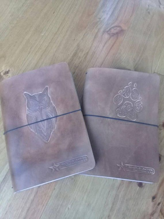 Check out this item in my Etsy shop https://www.etsy.com/listing/556174917/owl-engraved-brown-leather-journal