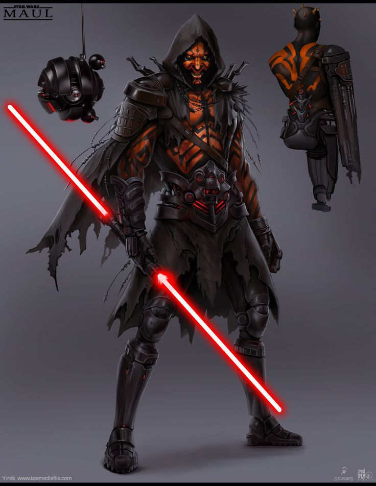 Another Look At That Cancelled Darth Maul Game