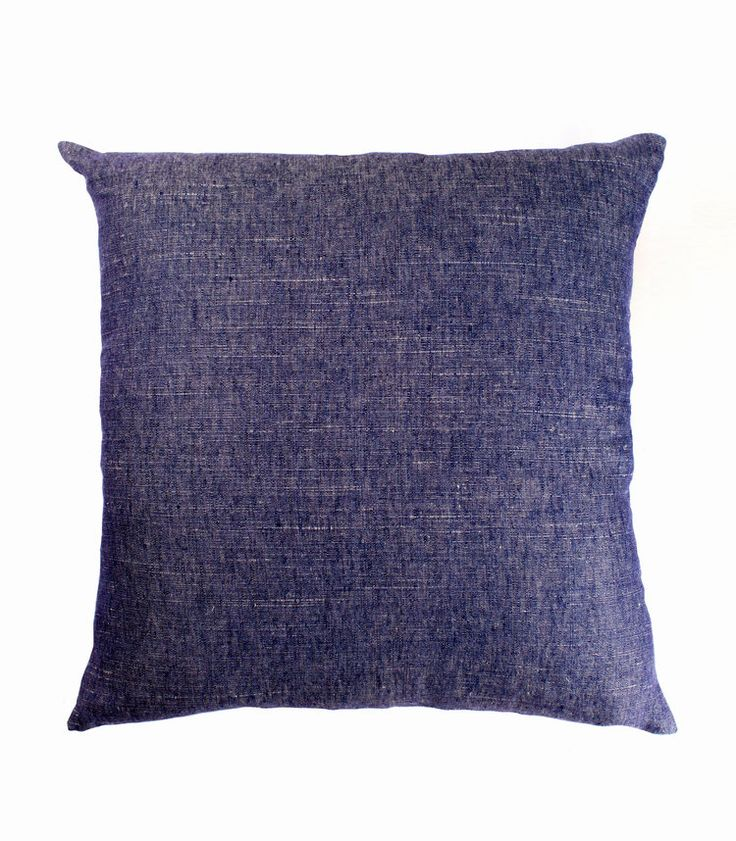The Stables offers a beautiful collection of Australian designed cushions. The FRANKIE cushion is solid in colour and made from a stunning linen designed to mix and match with other colours. Colour: navy denim. Dimensions: 50cm x 50cm Includes feather insert. $89.95 AUD www.thestablesco....