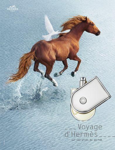 Voyage de Hermes Print Ad