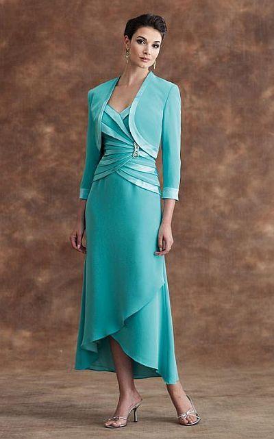 Montage by Mon Cheri T-Length Mother of the Bride Dress 28901T  I LOVE this dress. Unfortunately....$477.00 :(