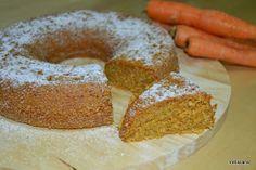 Petiscana: Bolo de Cenoura Integral [Whole carrot cake]