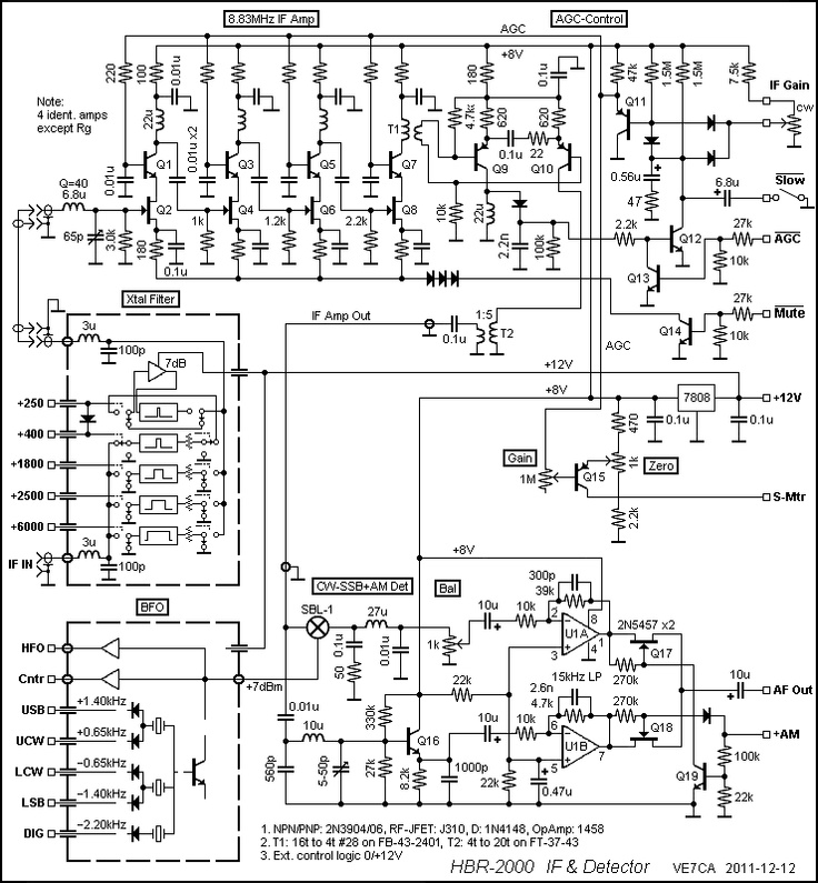 hbr-2000 if detector schematic