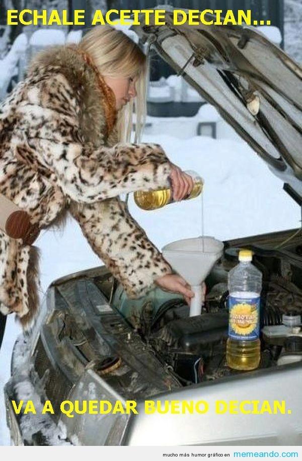 Echale aceite decian.... va a quedar bueno decian. #frases #humor