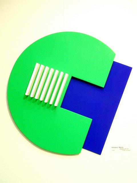 Vincenzo Mascia 'Struttura 05/10', 2010, MADI Art Museum and Gallery, Dallas by hanneorla, via Flickr
