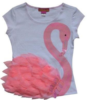 Kate Mack Beautiful Flamingo Tee