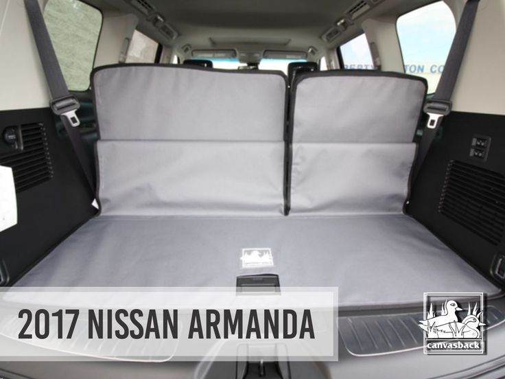 Check it out! 2017 Nissan Armanda is available now! Our cargo liners are made to custom fit each vehicle make & model. Shop canvasback.com  Special shout out to Wayzata Nissan!  #canvasback #cargoliner #cargoliners #makesandmodelsmonday #happymonday #mondaymotivation #motivationmonday #nissan #shop #nissanarmanda #new