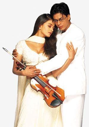 Mohabbatein with Aishwarya Rai Bachchan.