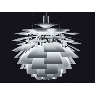 louis poulsen artichoke lamp - a piece of art in itself