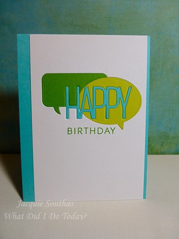 what did I do today?: Inlaid Die Cuts for OCC: Clean & Simple 3 + Seize the Birthday