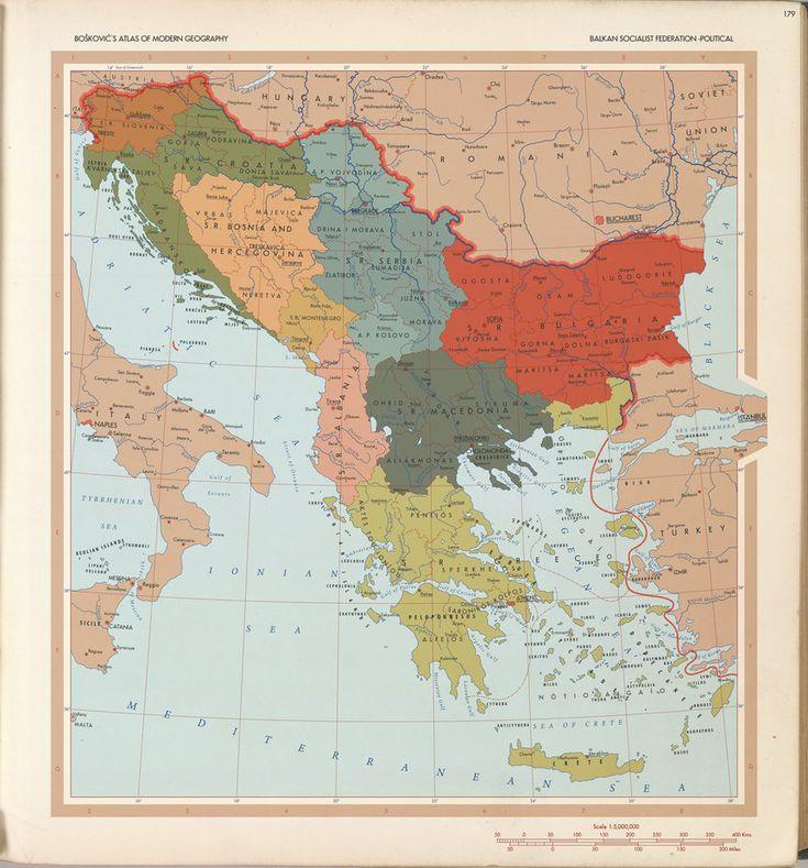 Balkan Socialist Federation 1964 by 1Blomma on
