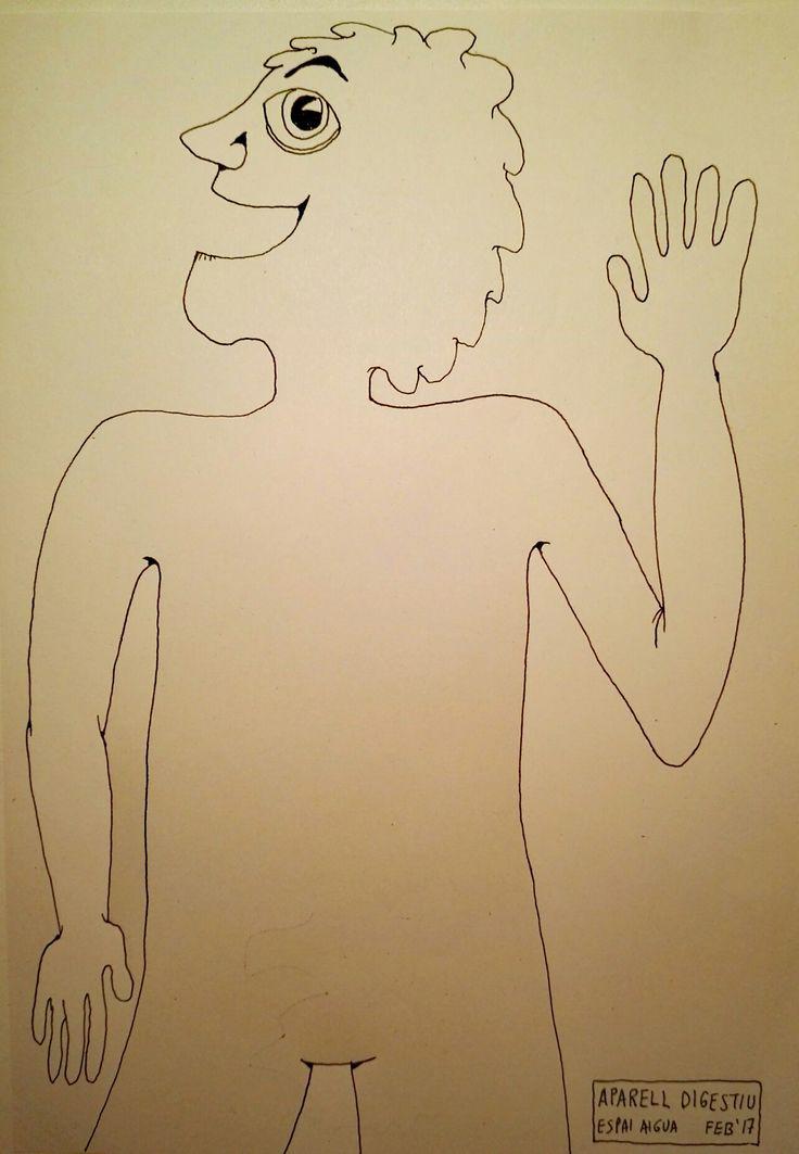 Esquema corporal per afegir diferents aparells: digestiu, circulatori, endocrí, excretor, respiratori, etc.
