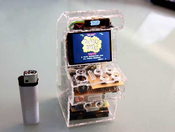 Extremely Awesome Custom Made Micro Arcade Machine