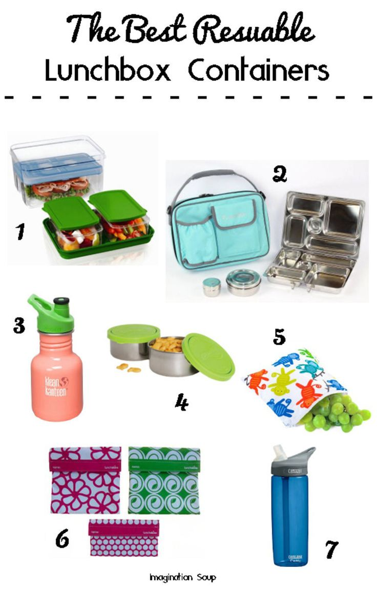 Best Reusable Lunchbox Containers - #1 is our favorite because it holds so much food!