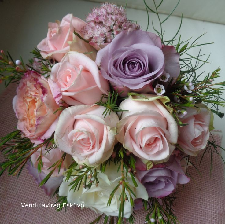 Menyasszonyi csokor _wedding bouquet https://www.facebook.com/vendulavirag/