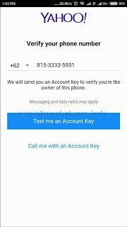 Berisi panduan cara mendaftar email baru di yahoo yang dilakukan dengan aplikasi yahoo mail indonesia. Membuat akun yahoo menggunakan aplikasi lebih cepat dan simple