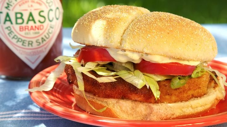 Spicy breaded steak cutlet sandwiches, like the ones the street vendors serve in the market squares in Mexico. Yum!