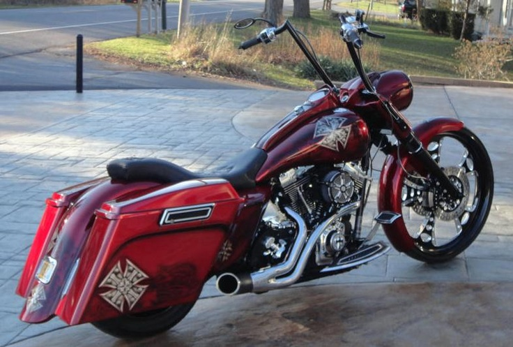17 best street glide images on pinterest custom baggers harley davidson bikes and harley. Black Bedroom Furniture Sets. Home Design Ideas